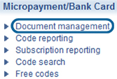 Rentabiliweb micropayment : document management
