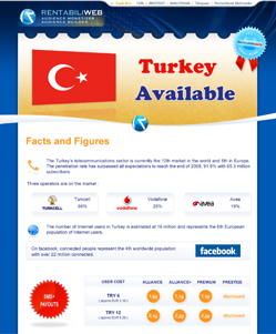 micropayment newsletter : Rentabiliweb : Turkey micropayment available